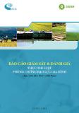 Báo cáo Giám sát và đánh giá thực thi Luật Phòng chống bạo lực gia đình (tại 2 tỉnh Hòa Bình và Hà Nam)