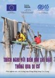 Thích nghi với biến đổi khí hậu thông qua di cư: Một nghiên cứu về trường hợp Đồng bằng sông Cửu Long