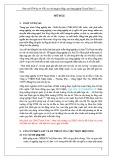 Báo cáo ĐTM dự án: Đầu tư xây dựng hạ tầng cụm công nghiệp Thanh Xuân 1
