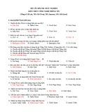 Trắc nghiệm 150 câu Tin học có đáp án