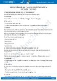 Giải bài Thực hành Xây dựng thực đơn SGK Công nghệ 6