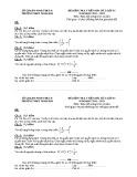 Đề kiểm tra 1 tiết môn Giải tích 11 năm 2015 - THPT Ninh Hải (Bài số 3)