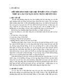 SKKN: Đổi mới hình thức dạy học ở phần củng cố kiến thức qua bài tập dạng bảng trong bộ môn Hoá