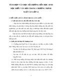 SKKN: Tích hợp Văn học sử, hướng dẫn học sinh đọc hiểu văn bản trong chương trình Ngữ văn lớp 12