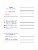 Bài giảng Cơ sở lý thuyết trường điện từ: Chương 1 - Nguyễn Văn Huỳnh
