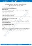 Giải bài Một số tính chất của đất trồng SGK Công nghệ 7