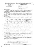Đề thi HSG môn Địa lý lớp 9 năm 2012-2013 - Sở GD&ĐT Hà Nội