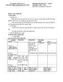 Đề kiểm tra HK 1 môn Địa lí lớp 11 năm 2015 - THPT Chuyên Lê Quý Đôn