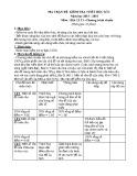 Đề kiểm tra 1 tiết môn Địa lí lớp 11 năm 2016 - THPT Nguyễn Trãi