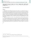 Khoa học xã hội nhân văn với sự nghiệp phát triển kinh tế hiện nay
