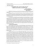 Tập bài viết Bản tin Thông tin Khoa học và Công nghệ của trường Đại học Tây Bắc