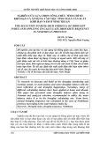 Nghiên cứu lựa chọn công thức tính chỉ số khô hạn và áp dụng vào việc tính tần suất khô hạn năm ở Ninh Thuận
