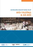 Hướng dẫn công bố thông tin về môi trường và xã hội