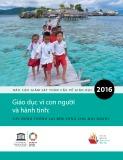 Giáo dục vì con người và hành tinh: xây dựng tương lai bền vững cho mọi người (Báo cáo giám sát toàn cầu về giáo dục 2016)