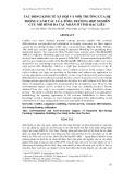 Tác động kinh tế xã hội và môi trường của hệ thống canh tác lúa - tôm: Trường hợp nghiên cứu mô hình đa tác nhân ở tỉnh Bạc Liêu