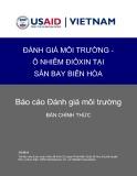 Đánh giá môi trường - ô nhiễm Điôxin tại sân bay Biên Hòa: Báo cáo Đánh giá môi trường