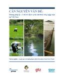 Báo cáo Căn nguyên vấn đề: Khung pháp lý về chi trả dịch vụ hệ sinh thái rừng ngập mặn tại Việt Nam