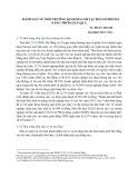 Đánh giá về môi trường kinh doanh tại Đà Nẵng thời gian qua