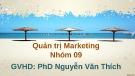Bài thuyết trình: Quản trị Marketing