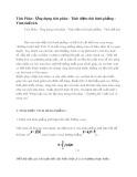 Tích Phân - Ứng dụng tích phân - Tính diện tích hình phẳng - Tính thể tích