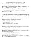 616 Câu trắc nghiệm Vật lý 11 chương 1