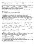Ôn tập Vật lý lớp 11 chương 1 và 2