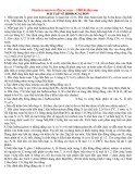 Bài tập về hiđrocacbon Hoá học 11
