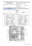 Đề thi cuối HK 2 môn Thiết kế, chế tạo khuôn ép nhựa năm 2014-2015