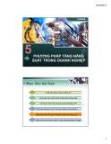 Bài giảng Chương 5: Phương pháp tăng năng suất trong doanh nghiệp