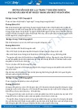 Giải bài Vai trò của bản vẽ kỹ thuật trong sản xuất và đời sống SGK Công nghệ 8
