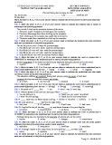 Đề kiểm tra 1 tiết HK 1 môn tiếng Anh lớp 12 - THPT B Nghĩa Hưng - Mã đề 209