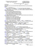 Đề kiểm tra 1 tiết HK 1 môn tiếng Anh lớp 12 - THPT B Nghĩa Hưng - Mã đề 132