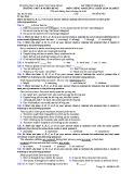 Đề kiểm tra 1 tiết HK 1 môn tiếng Anh lớp 12 - THPT B Nghĩa Hưng - Mã đề 485