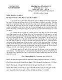 Đề kiểm tra giữa HK 1 môn Ngữ văn lớp 12 năm 2016 - THPT Nguyễn Khuyến