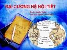 Bài giảng Đại cương hệ nội tiết - BS. Lê Quốc Tuấn, ThS. BS. Nguyễn Phúc Hậu