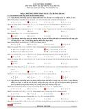 Bài tập trắc nghiệm phương pháp tọa độ trong mặt phẳng