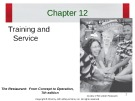 Lecture The restaurant:  From concept to operation (7th edition): Chapter 12 - Walker