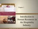Lecture Human resources management in the hospitality industry (2nd edition): Chapter 1 - David K. Hayes, Jack D. Ninemeier
