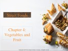 Lecture Street foods - Chapter 4: Vegetables and fruit