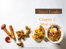 Lecture Street foods - Chapter 2: Meat and poultry
