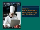 Lecture Purchasing for Chefs: Chapter 3 - Feinstein, Stefanelli
