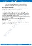 Giải bài Phân loại và số liệu kỹ thuật của đồ dùng điện Công nghệ 8