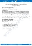 Giải bài Đèn huỳnh quang SGK Công nghệ 8