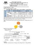 Đề kiểm tra Tin học trình độ B - CĐ Kinh Tế - Kỹ Thuật Miền Nam