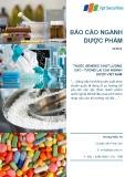 Báo cáo ngành: Dược phẩm