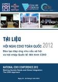 Tài liệu Hội nghị CDIO toàn quốc 2012 - Đào tạo đáp ứng nhu cầu xã hội và hội nhập quốc tế: Mô hình CDIO