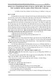 Khảo sát tình hình kê đơn sử dụng thuốc điều trị ngoại trú tại Bệnh viện Đa khoa tỉnh Vĩnh Long năm 2015