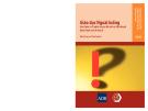 giáo dục ngoài luồng: học thêm và ý nghĩa của nó đối với các nhà hoạch định chính sách ở châu Á