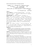 Nghiên cứu tỷ lệ tăng huyết áp và liên quan với một số yếu tố nguy cơ ở người từ 40 tuổi trở lên tại tỉnh Trà Vinh năm 2012