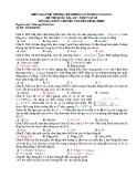 Đề kiểm tra HK 1 môn Vật lí lớp 12 năm 2016 - THPT Chuyên Nguyễn Đình Chiểu